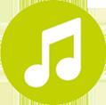 Capacidade Para Mais de 500 Músicas