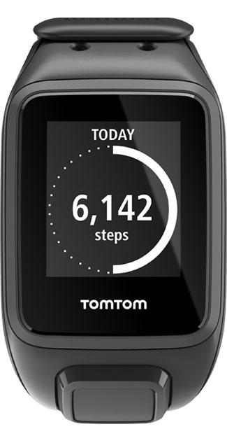 Relógio com GPS TomTom Spark Cardio Preto Large